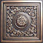 """Majesty Antique Bronze Black (24x24"""" Pvc) Ceiling Tile"""