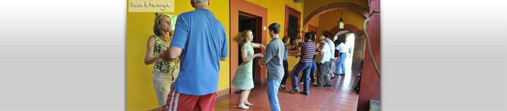 Spanish Language School Oaxaca Mexico | Study and Learn Spanish in Oaxaca Mexico | Spanish language immersion programsSalsa and Merengue Dancing Our dance instructor will teach you the basic steps for salsa and merengue.  You will have an ample amount of additional opportunity to practice at the nightclubs and salsa clubs in the evenings. Learning salsa is a great way to meet other students and locals – the majority of Oaxacans love music and love to dance!