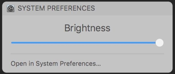 How to change screen brightness on the Mac with Siri voice commands