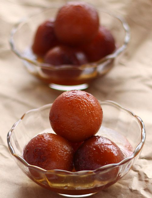 Gulab Jamun with Milk Powder -  Popular Indian Sweet - Step by Step Recipe