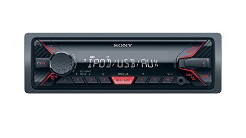 awesome Sony dsx-a200ui Mechaless Radio para coche (USB, Conector AUX, MP3/WMA/FLAC, Función de control para Apple iPod/iPhone)