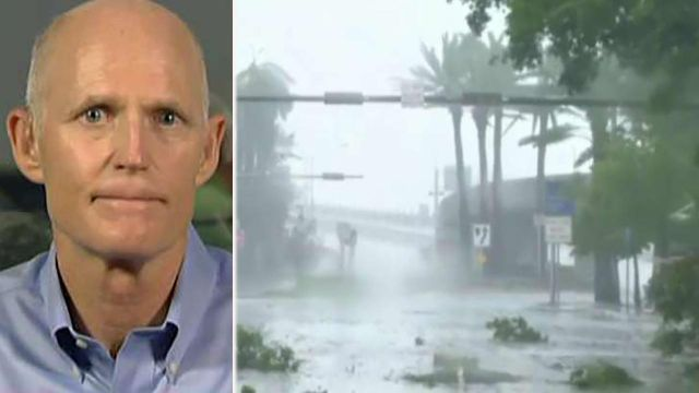 Florida governor shares a Hurricane Irma update on 'Shepard Smith Reporting'