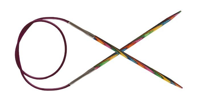 KnitPro Symfonie Fixed Circular Needles 100cm - Makes #knitting a lot more comfortable for you. #needles