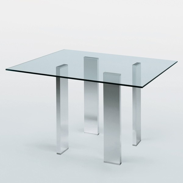 Tienda online Mesa fija Taul cuadrada de MisuraEmme Mesa cuadrada fija. Diseño: Mauro Lipparini.