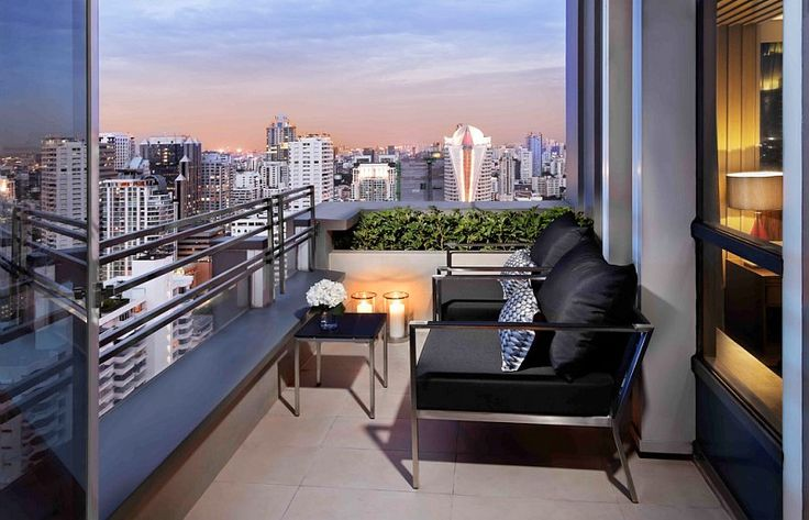 Romantic view on the rooftop at Sofitel Bangkok Sukhumvit - Thailand