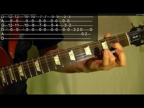 LED ZEPPELIN - KASHMIR - How to Play - Free Online Guitar Lessons With Tabs - YouTube