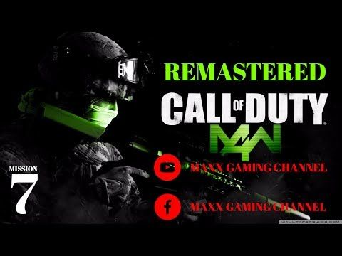 Here's my latest video! Call of Duty Modern Warfare 4 REMASTERED Mission 7 https://youtube.com/watch?v=AqVmRFr7IL4
