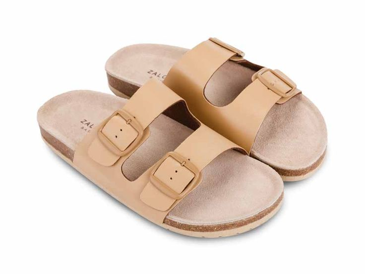Double Buckle Sandals design by Zalora Basics. Sandals with khaki color, double buckle detail at front, you can adjust the pin buckle, round toe, synthetic insole material, sole mousse EVA. Perfect choice for lazy sunday sandals.     http://www.zocko.com/z/JJpT4