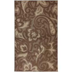Mohawk Home Forte Dark Cocoa,Taupe and Coconut 10 ft. x 13 ft. Area Rug  on  Daily Rug Deals