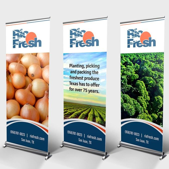 Design Impactful Trade Show Banners for a Texas Family Produce Company! by…