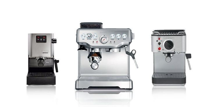 #bestoftheday #FF We've looked at 48 different coffee makers and covered more than 91 hours of research and testing to write this espresso makers review which leads us to recommend that the Breville Barista Express Espresso Machine stands out as the best espresso maker to buy for most people. Top Pick: 1....