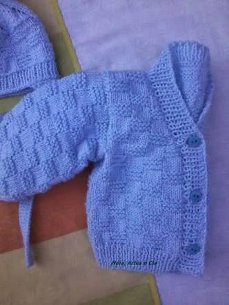 Resultado de imagem para caderno receitas de trico para fazer um enxoval de roupas de bebe recem-nacisdo