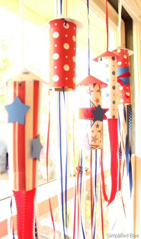 july2525204th252520rocket252520garland252520diy25255B1225255D 33 Inspirational Labor Day Decorations Ideas