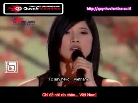 Hello Vietnam Sub Vietnamese English - Quỳnh Valentine