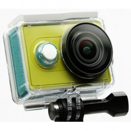 Underwater Waterproof Case IPX68 40m for Xiaomi Yi Sports Camera (ORIGINAL) - Transparent