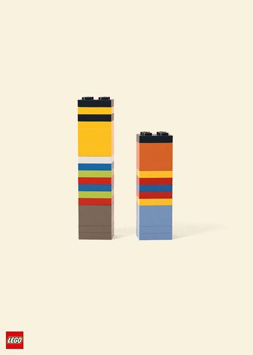 This is great: Sesame Street's Ernie & Bert in Lego.