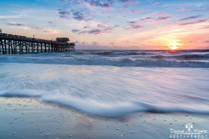 Cocoa Beach Pier at Sunrise Cocoa Beach Florida