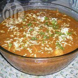 Curry met boter kip