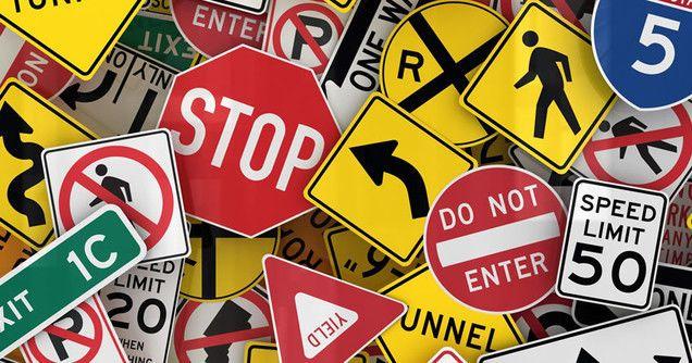¿Qué dicen los señalamientos viales?