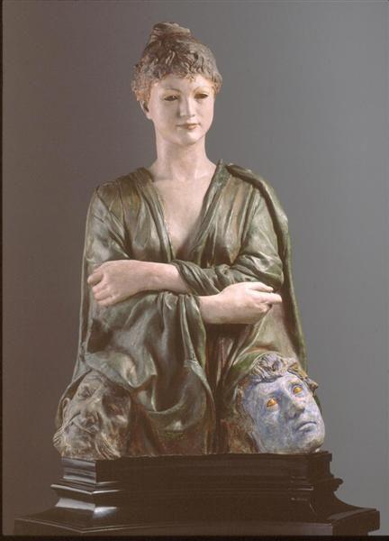 Skulptur im Neuen Albertinum Dresden:  Max Klinger,  Die Neue Salome, 1887/88