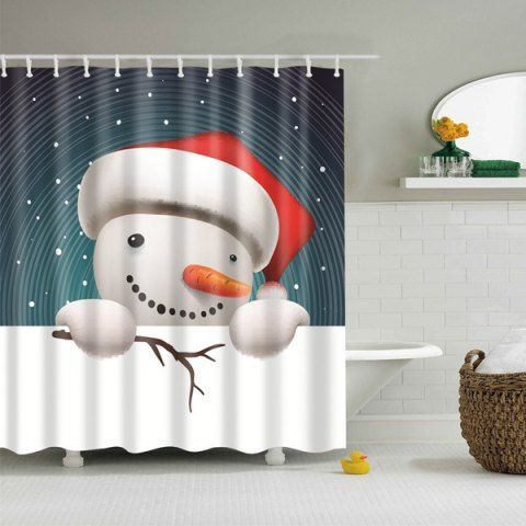 GET $50 NOW   Join RoseGal: Get YOUR $50 NOW!http://www.rosegal.com/bath-accessories-storage/snowman-print-merry-christmas-cartoon-901996.html?seid=3634767rg901996