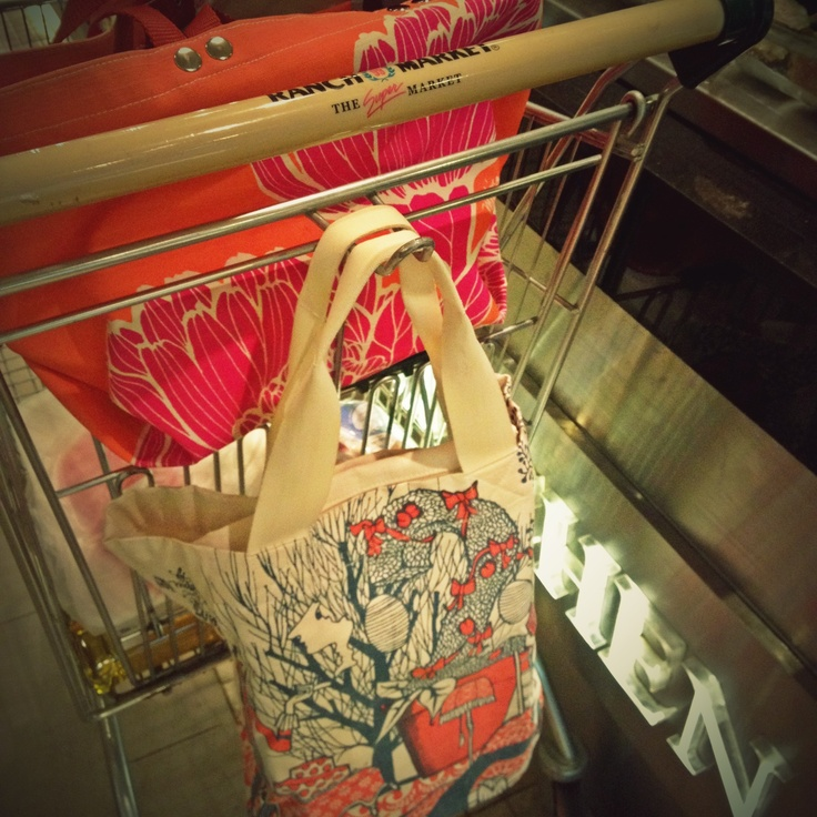 Environment friendly, and shop in style with Tulisan Beach Bag