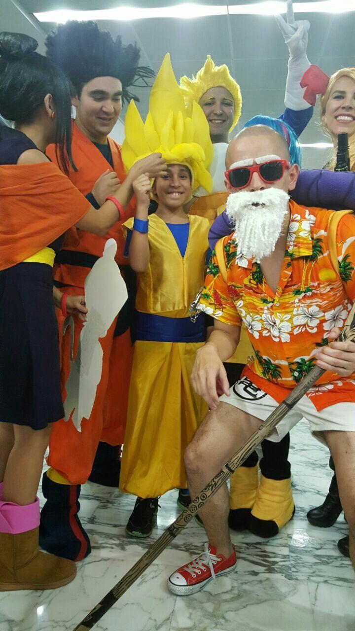 Halloween, Goku, disfraz, DIY,  manualidades.
