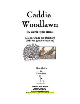 Caddie Woodlawn Novel Literature Unit Study and Lapbook ...