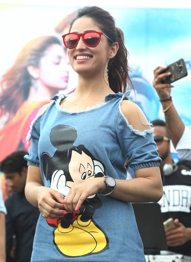 Yami Gautam at Appu Ghar in Gurgaon promoting #Junooniyat. #Bollywood #Fashion #Style #Beauty #Hot