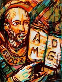 """Ad Majorem Dei Gloriam  (ad-MA-yor-em DAY-ee GLOR-ee-um): """"All for the Greater Glory of God""""  Ad majorem dei gloriam is often shortened to AMDG. In other words, it's the WWJD of the Jesuits, who've been drilling the mantra into their followers since (Saint) Ignatius of Loyola founded the Catholic Order in 1534. They believe all actions, big or small, should be done with AMDG in mind."""