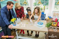 Epoxy Crafts on The Hallmark Channel's Home and Family Show - From Scratch With Maria Provenzano