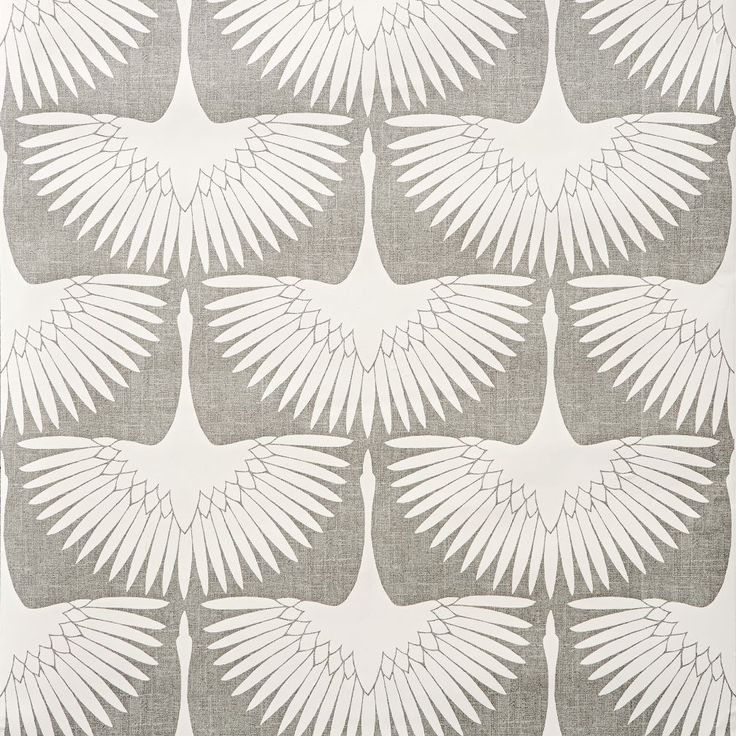 Genevieve Gorder Feather Flock Removable Wallpaper | The Land of Nod