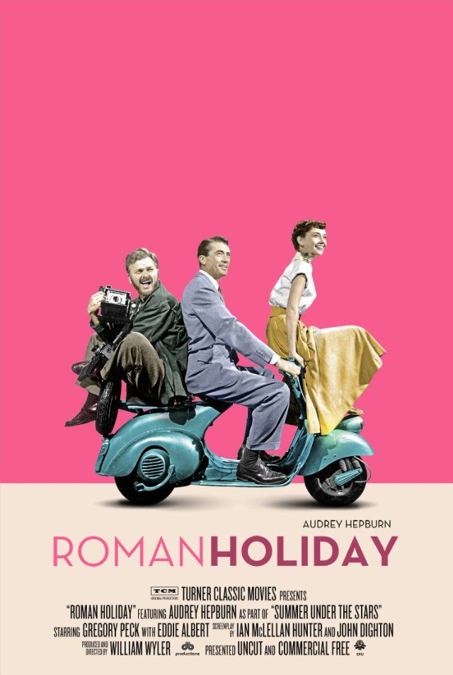 Cute poster. This is one of my all time favorite movies. And the one that introduced me to Audrey Hepburn.