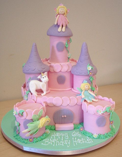 Fairy Castle Cake by Takes the Cake, via Flickr