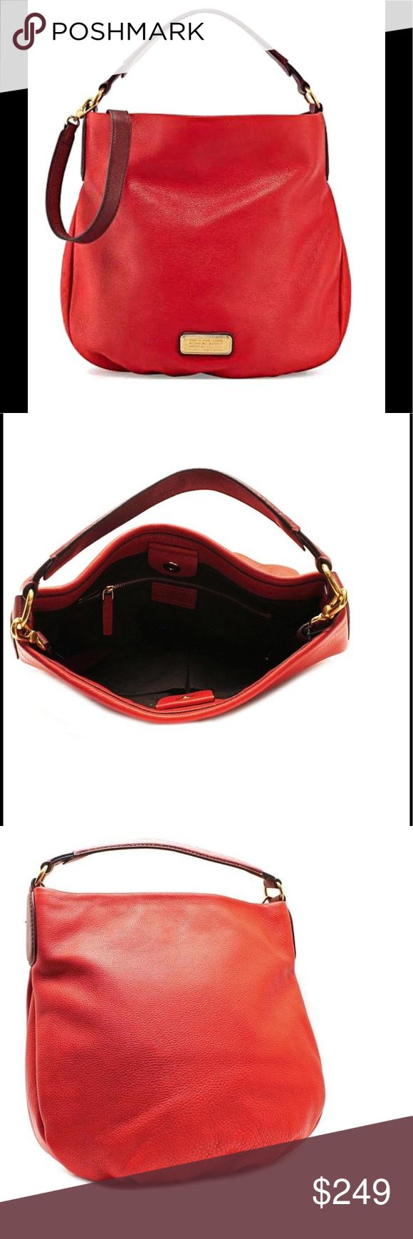 Marc By Marc Jacobs Q Hillier Hobo bag red Please see product features in photos Color: rosy red multi  Only used once in excellent condition! Marc By Marc Jacobs Bags Hobos