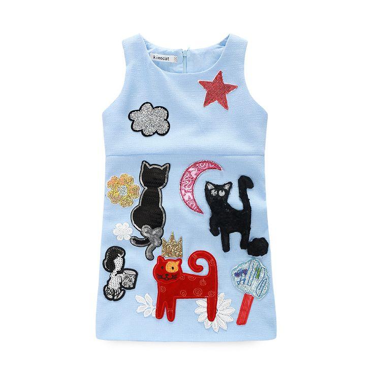 $21.30 (Buy here: https://alitems.com/g/1e8d114494ebda23ff8b16525dc3e8/?i=5&ulp=https%3A%2F%2Fwww.aliexpress.com%2Fitem%2F2016-new-summer-girls-dress-children-clothing-girl-princess-dress-casual-dress-sleeveless-graffiti-Kids-H%2F32617779707.html ) 2016 new summer girls dress children clothing girl princess dress casual dress sleeveless graffiti Kids H for just $21.30