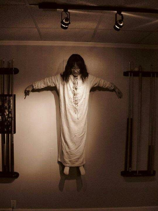 Exorcist - new spin on a scarecrow.