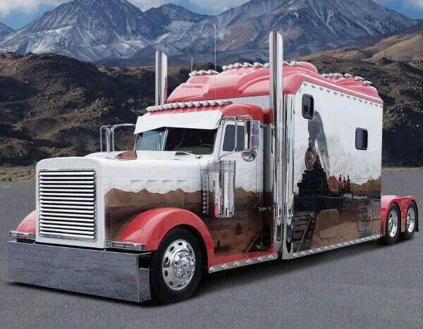 (USA) long sleeper cab tractor
