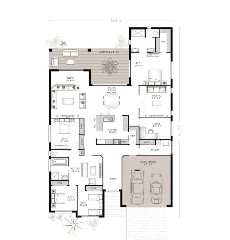 Bradfield 33 plan | Ausbuild