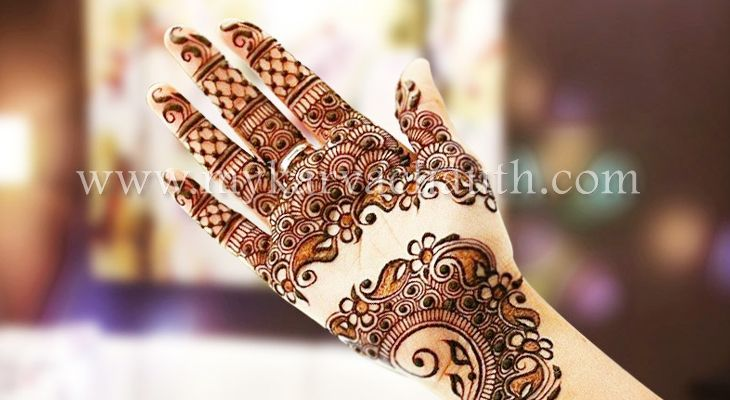 Least Mehendi Design Some Times Looks Elegant! @ http://bit.ly/2cfQXZ8  #mehndi #designs #karva #chauth #galleries #pictures #Latest
