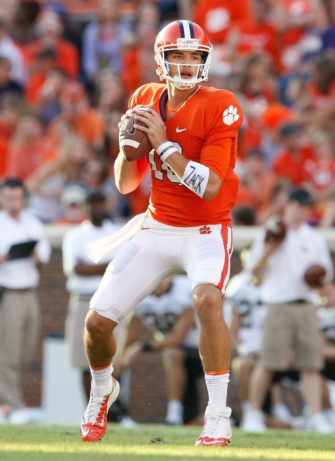 Cole Stoudt Clemson Football back-up QB - His Dad played for the Steelers.  Tigers Photos - ESPN