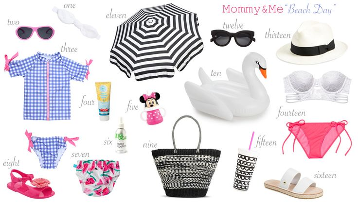 "Mommy & Me ""Beach Days"""
