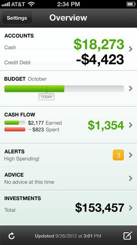 Mint.com allows you to track, budget and manage your money all in one place, so you can see where you're spending and where you can save. Open an account, add your bank, credit, loan and retirement accounts and Mint will automatically pull in and categorize your transactions.