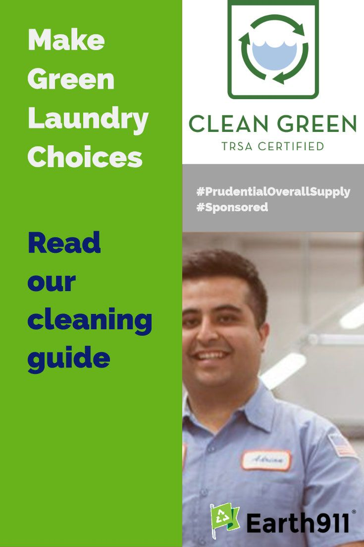 Green Laundry Choices From Personal Dry Cleaning To Company