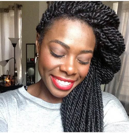 Enjoyable 25 Best Ideas About Senegalese Twist Hairstyles On Pinterest Hairstyles For Men Maxibearus
