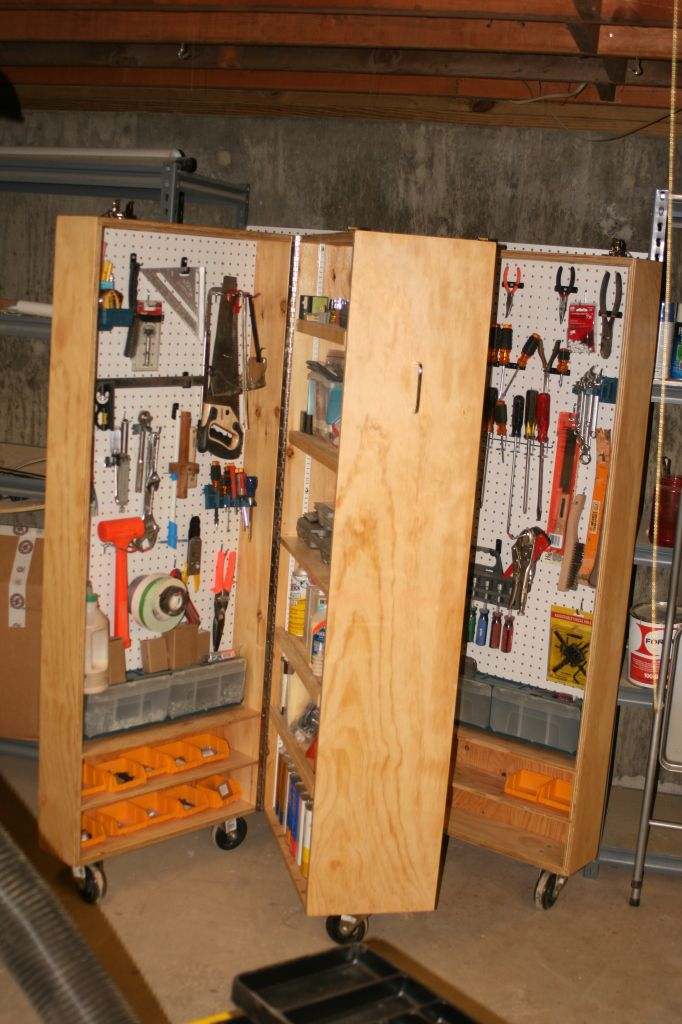 Portable Tool Storage Unit In 2019 Garage Tool Storage