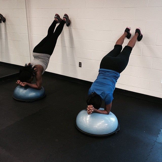 Stability Ball Russian Twist: 46 Best Images About Bosu Workouts On Pinterest