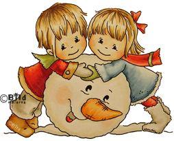 *NEW* Bildmalarna - Christmas Snow Fun