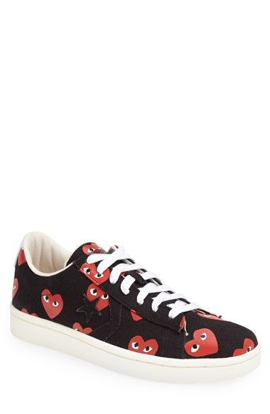 Comme des Garcons PLAY sneakers: Low Tops, Men Comm, Garcon Plays, For Boys, Tops Sneakers, Sneakers Men, As, Comm Des, Plays Sneakers