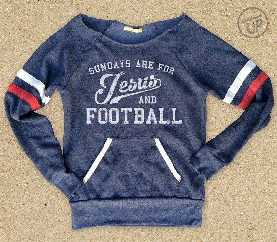 Sundays are for Jesus and Football Eco-Fleece Cozy by weekendUP